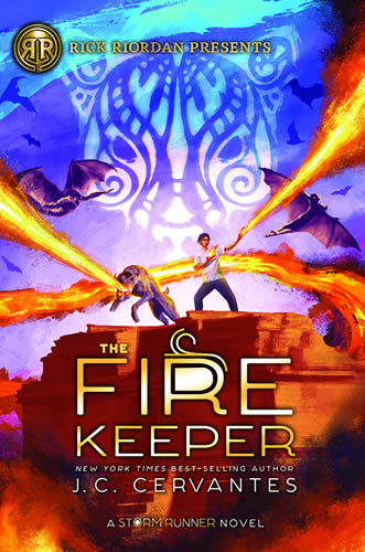 The Fire Keeper by author J.C. Cervantes
